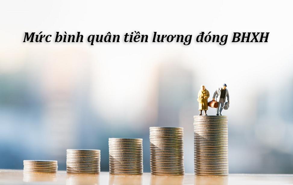 Cách tính mức bình quân tiền lương đóng BHXH