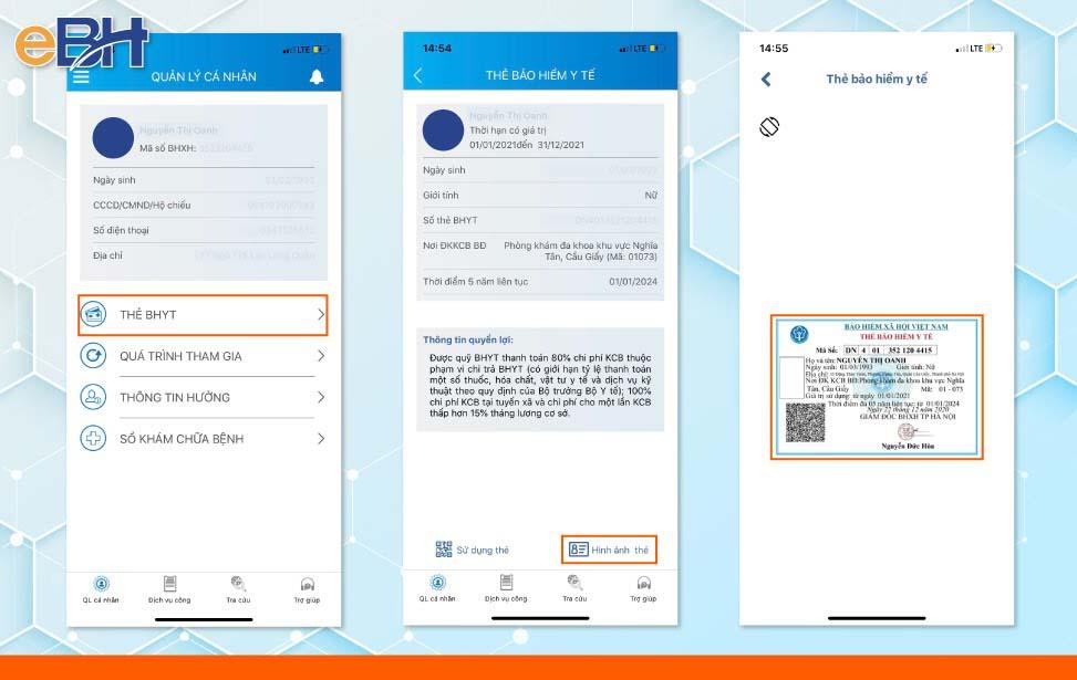 Hướng dẫn cách tra cứu gia strij sử dụng thẻ BHYT trên ứng dụng VSSID