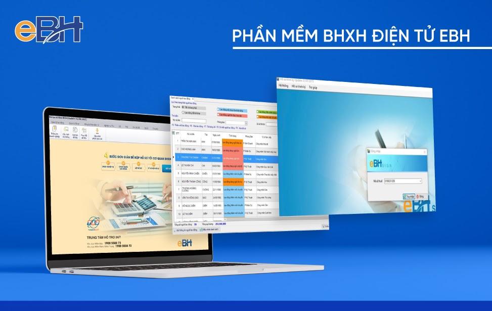 Khai bảo hiểm xã hội qua mạng thông qua phần mềm BHXH điện tử eBH