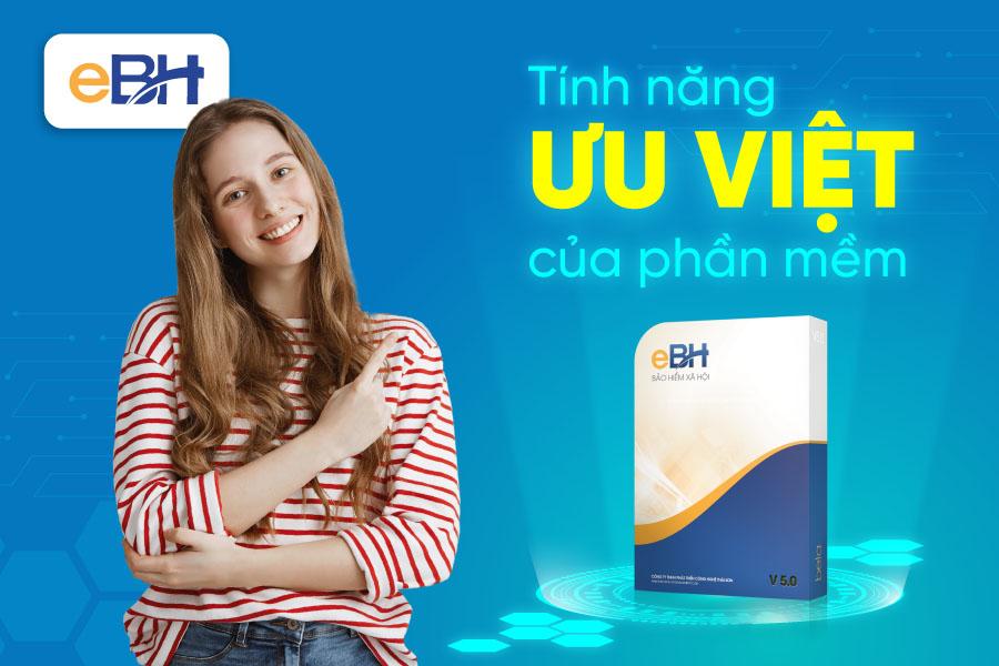 eBH hỗ trợ các doanh nghiệp đơn giản hóa việc kê khai BHXH điện tử. Nguồn: eBH